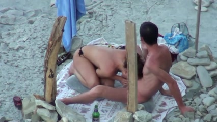 Nude Beach Blowjob Filmed Spycam-pic4048
